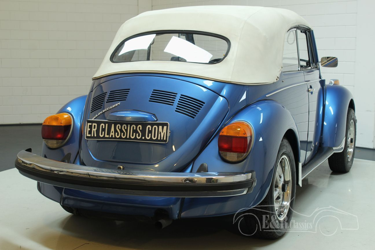 Volkswagen kever cabrio 1978 Ancona Blue Metallic 17/30