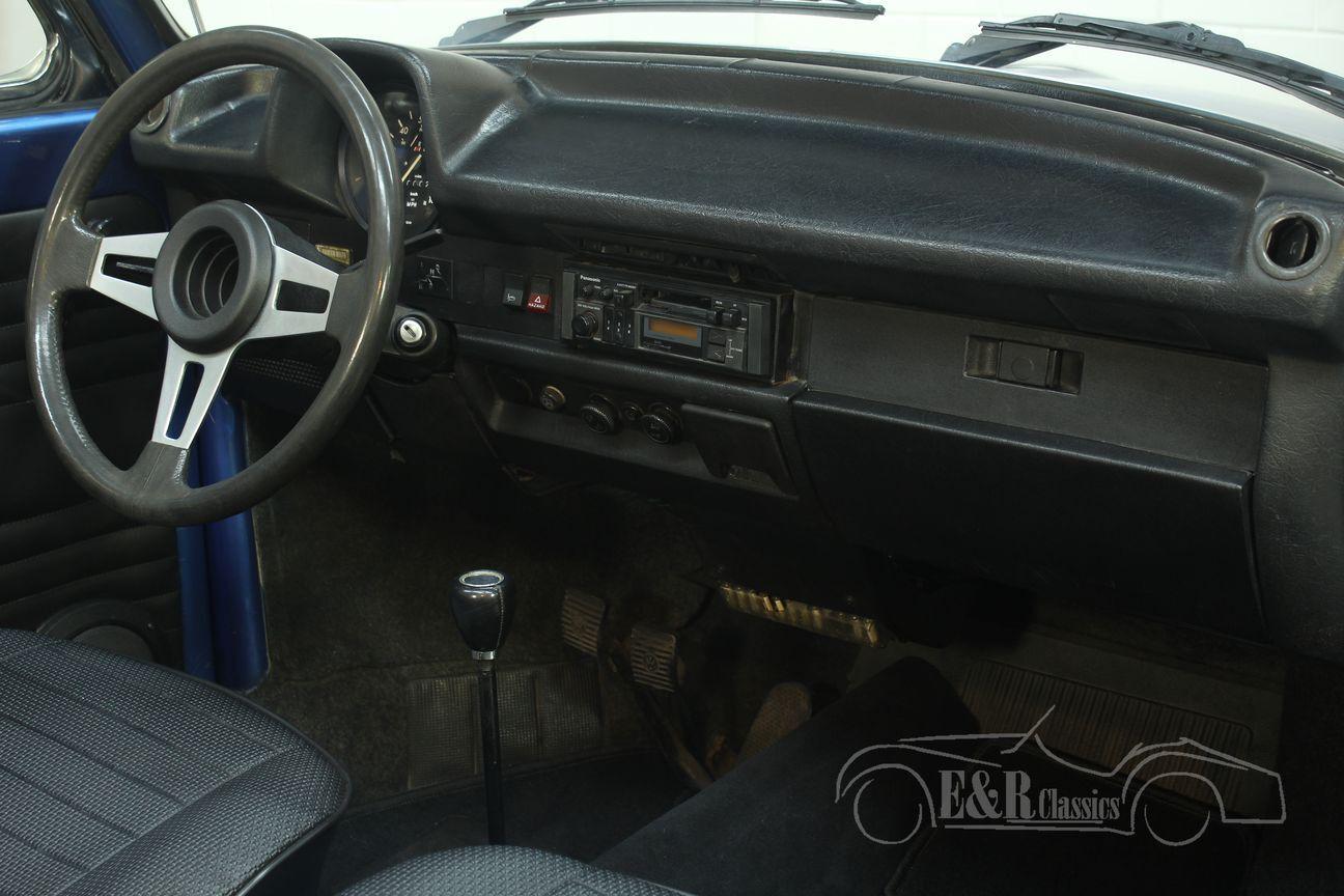 Volkswagen kever cabrio 1978 Ancona Blue Metallic 26/30