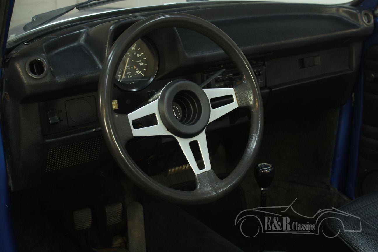 Volkswagen kever cabrio 1978 Ancona Blue Metallic 21/30