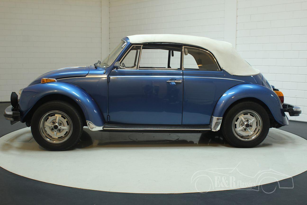 Volkswagen kever cabrio 1978 Ancona Blue Metallic 15/30