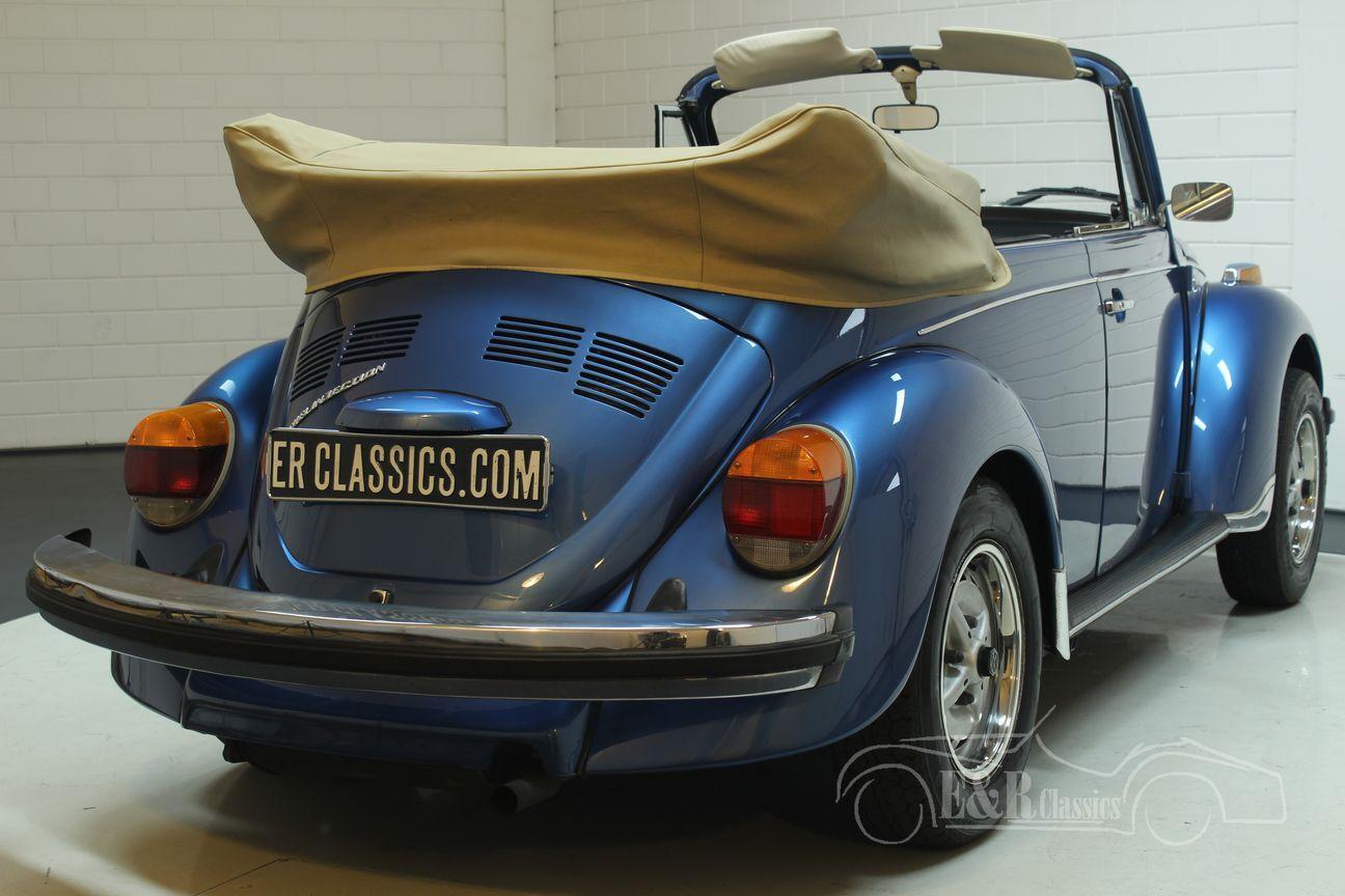 Volkswagen kever cabrio 1978 Ancona Blue Metallic 13/30