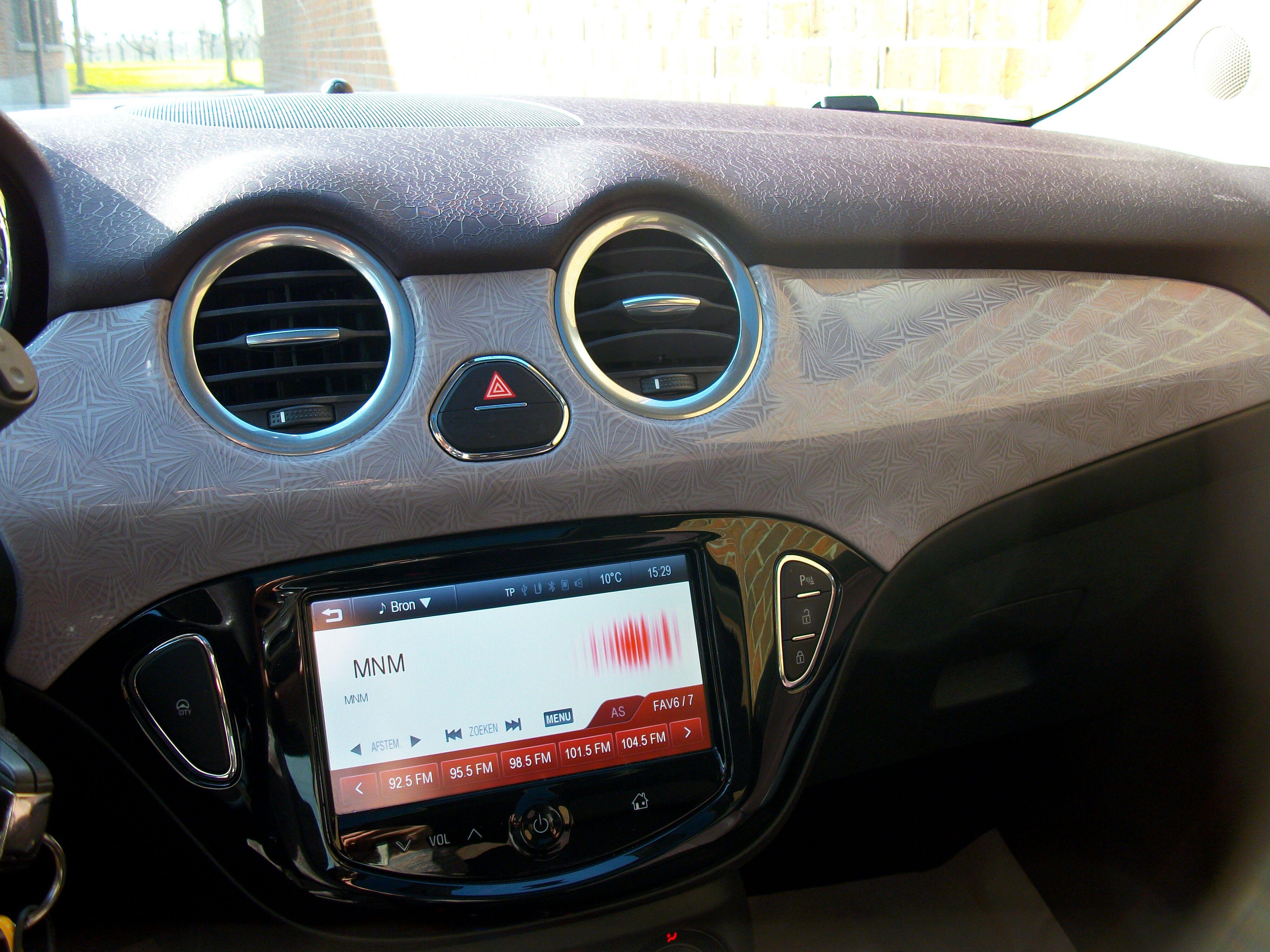 Opel ADAM SLAM 1.2 Benz. - weinig kilometers 5/12