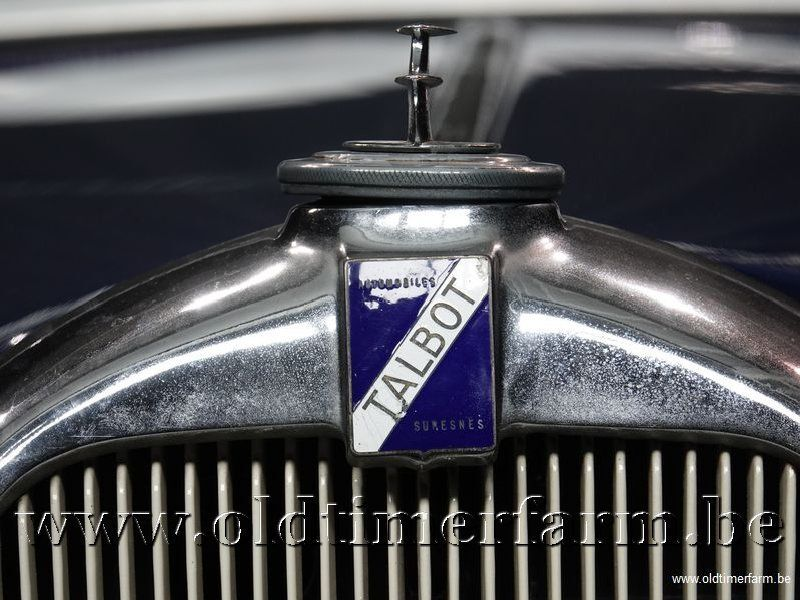Talbot Autre Suresnes T120 '36 16/30