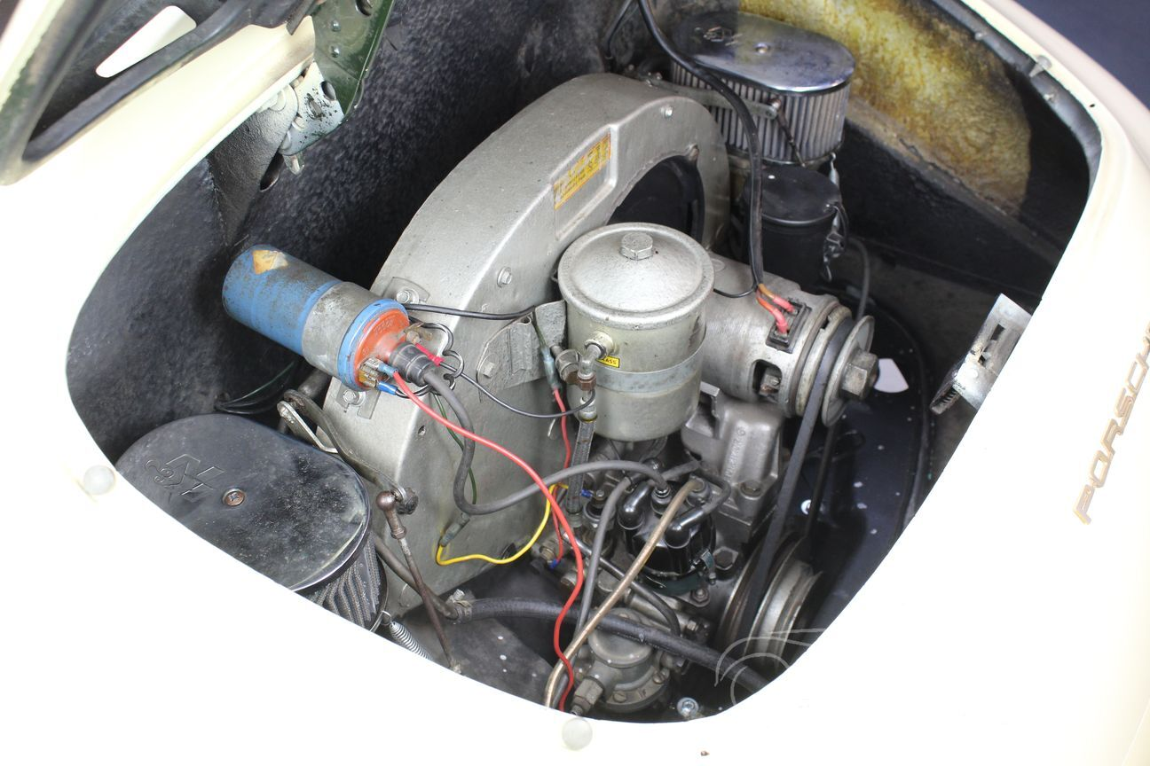 Porsche 356 B Karmann Hardtop Coupé 1962 31/31
