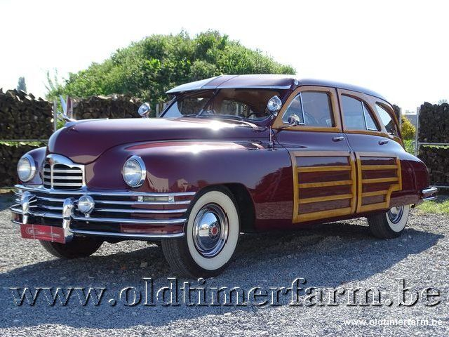Packard Autre Eight Woody Wagon '47 1/30