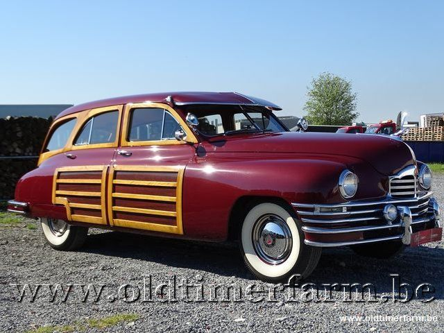 Packard Autre Eight Woody Wagon '47 3/30