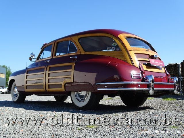 Packard Autre Eight Woody Wagon '47 4/30