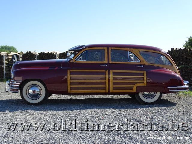 Packard Autre Eight Woody Wagon '47 8/30