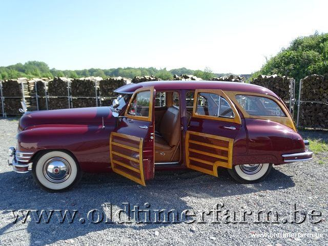 Packard Autre Eight Woody Wagon '47 18/30