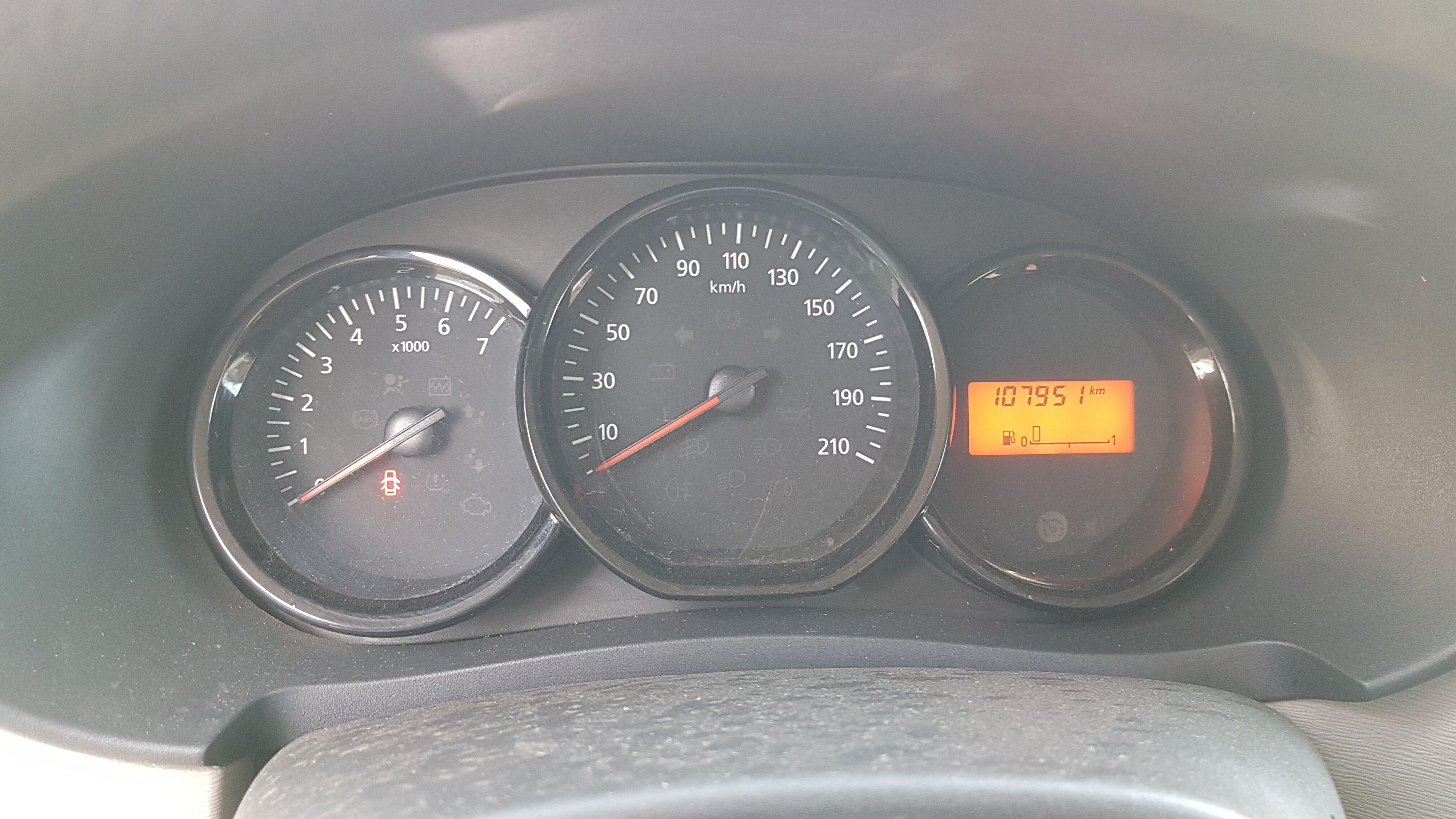 Dacia Dokker Dacia dokker Euro 5 7/8