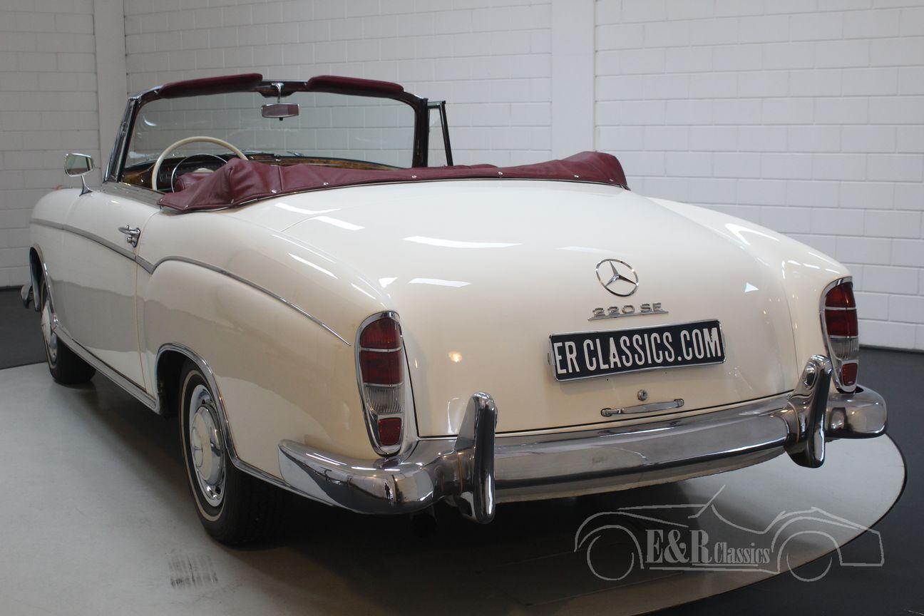 Mercedes 220 SE Ponton Cabriolet 1960 9/30