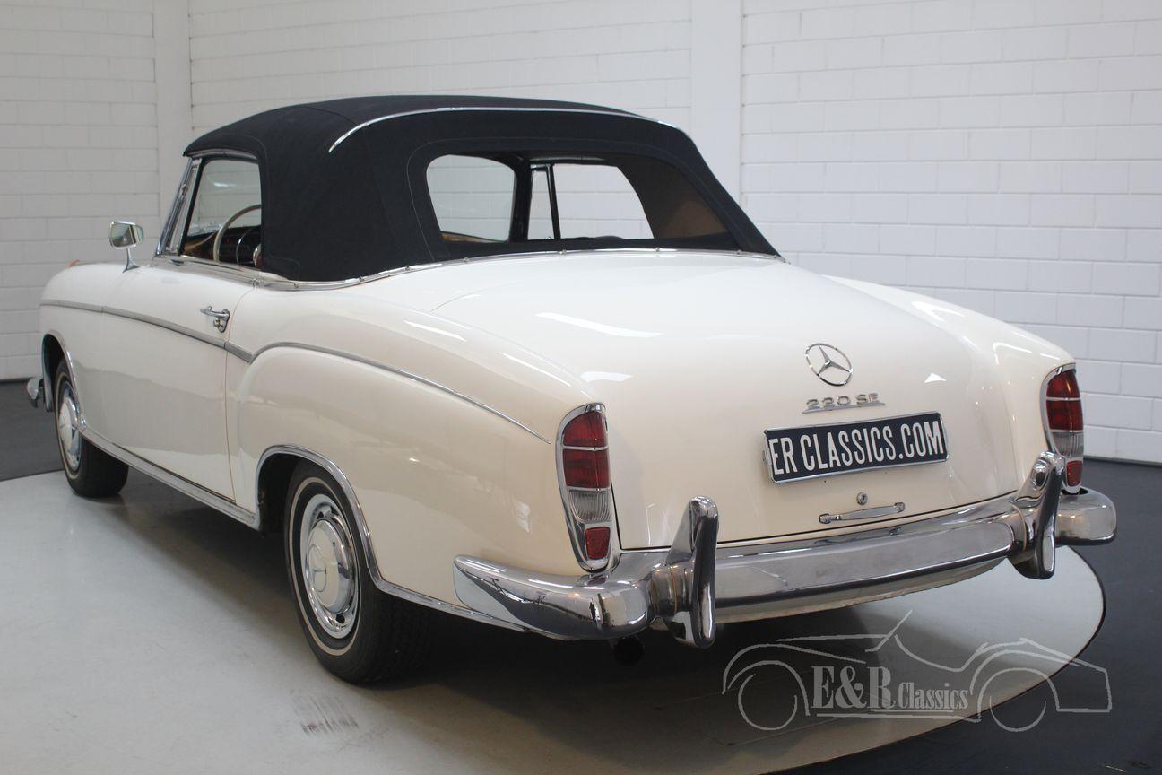 Mercedes 220 SE Ponton Cabriolet 1960 25/30
