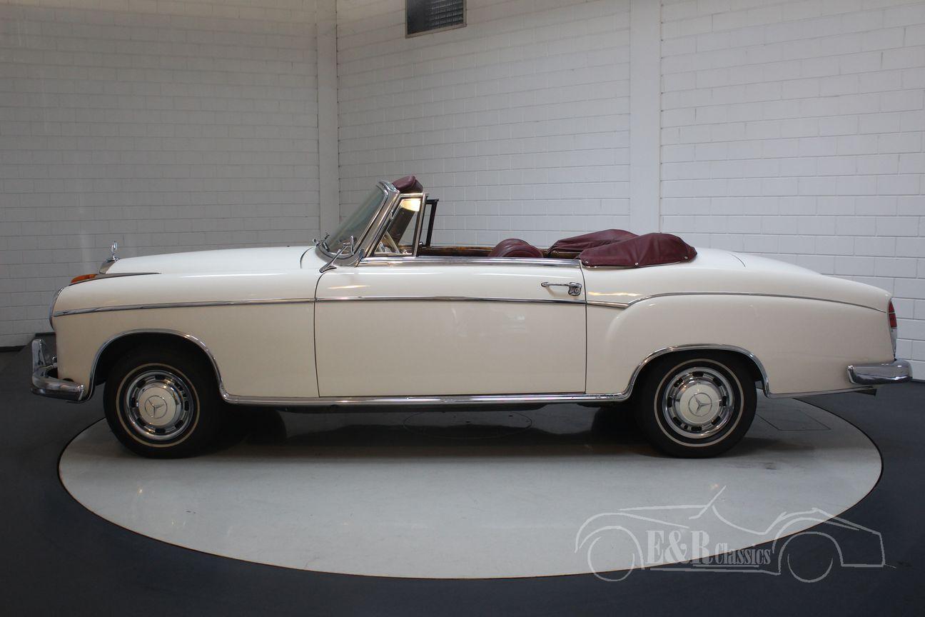 Mercedes 220 SE Ponton Cabriolet 1960 8/30