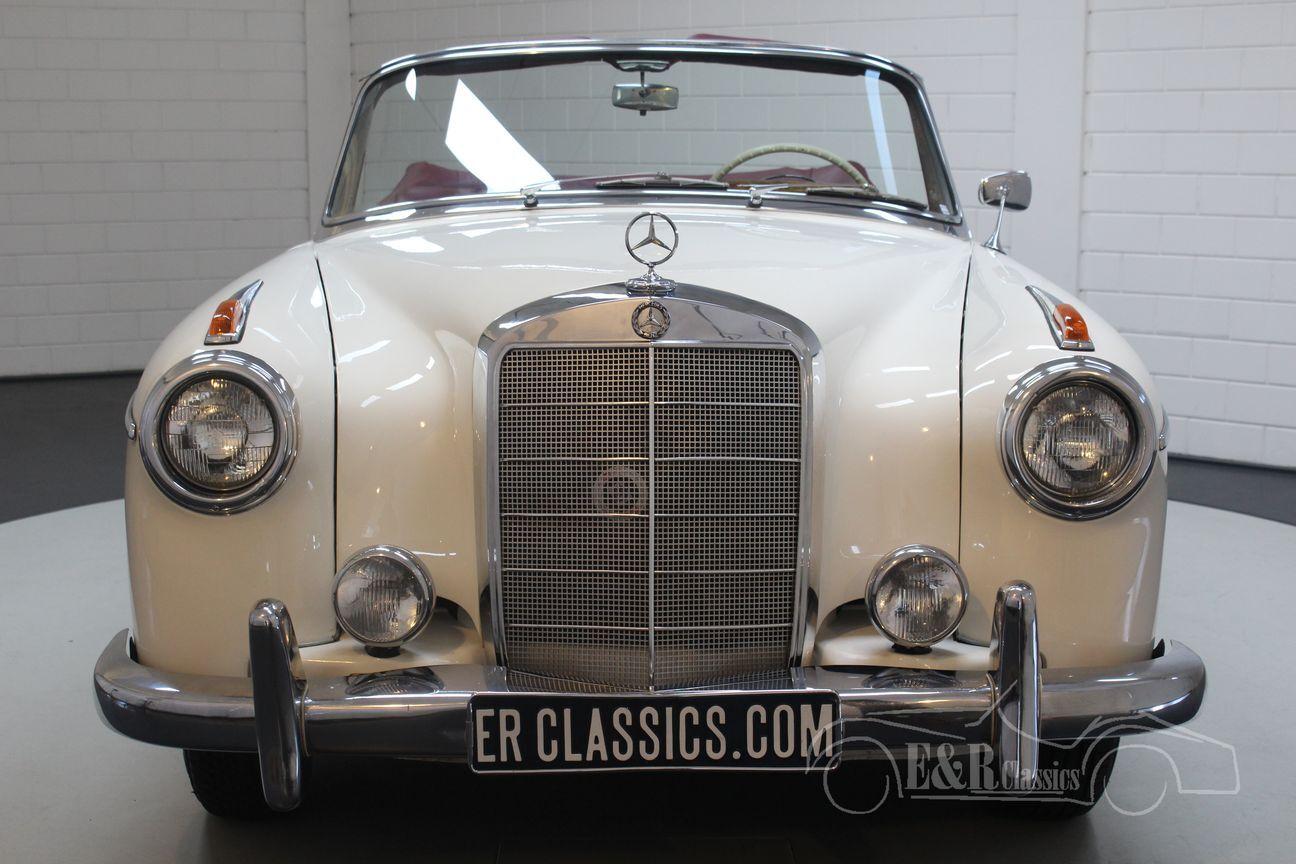 Mercedes 220 SE Ponton Cabriolet 1960 6/30