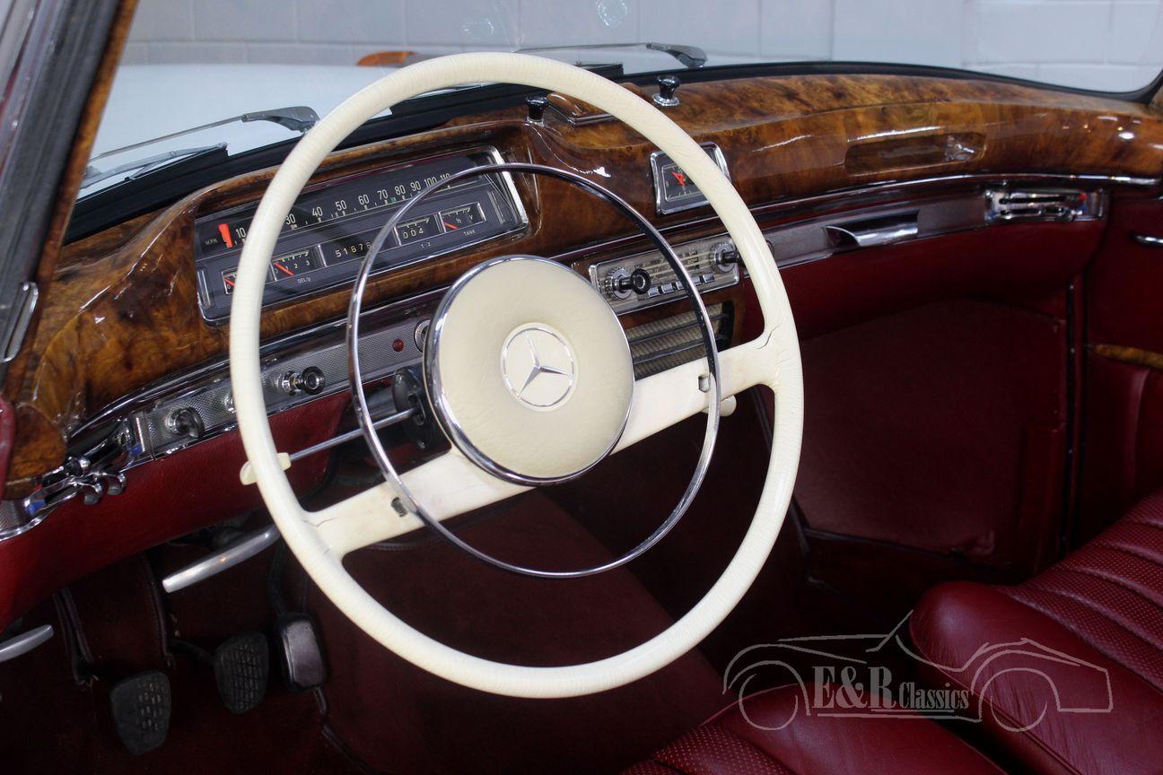 Mercedes 220 SE Ponton Cabriolet 1960 15/30