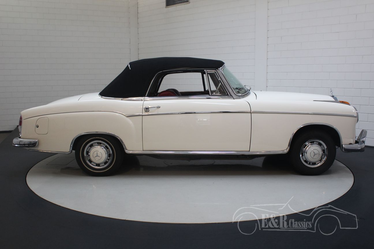 Mercedes 220 SE Ponton Cabriolet 1960 27/30