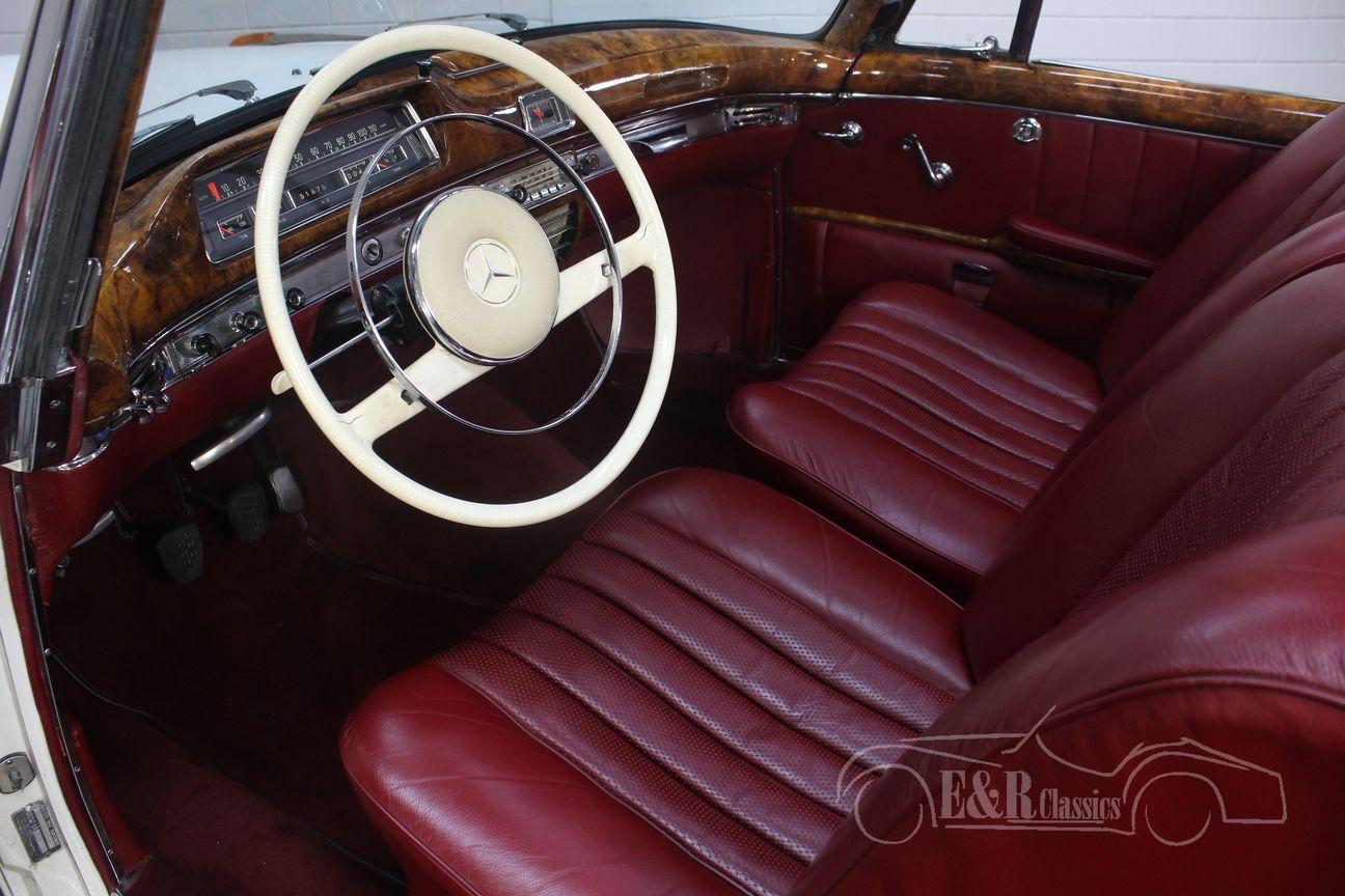Mercedes 220 SE Ponton Cabriolet 1960 3/30