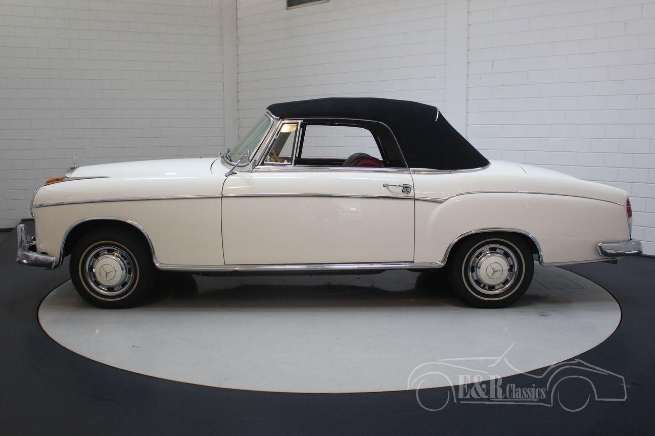 Mercedes 220 SE Ponton Cabriolet 1960 24/30