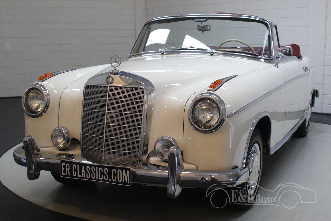 Mercedes 220 SE Ponton Cabriolet 1960 7/30