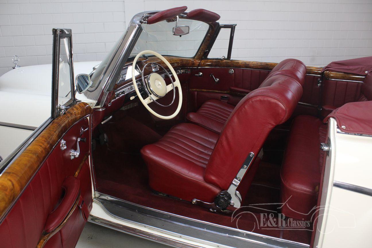 Mercedes 220 SE Ponton Cabriolet 1960 14/30