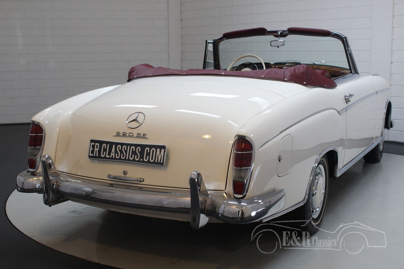 Mercedes 220 SE Ponton Cabriolet 1960 12/30