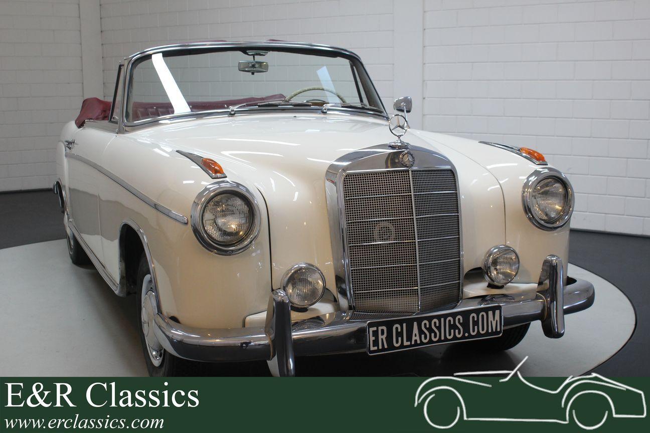 Mercedes 220 SE Ponton Cabriolet 1960 1/30