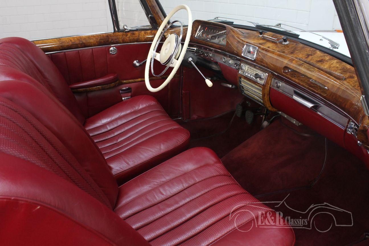 Mercedes 220 SE Ponton Cabriolet 1960 19/30