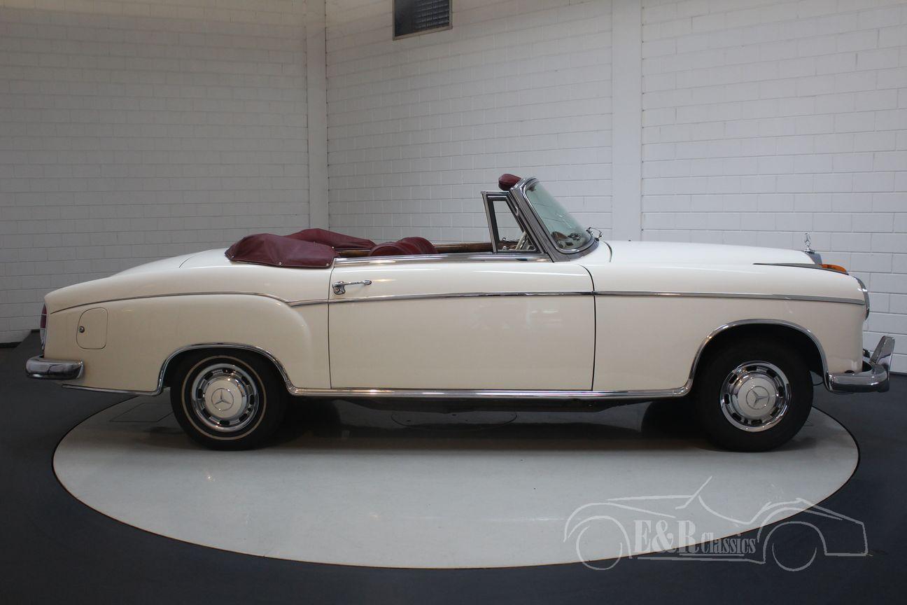 Mercedes 220 SE Ponton Cabriolet 1960 13/30
