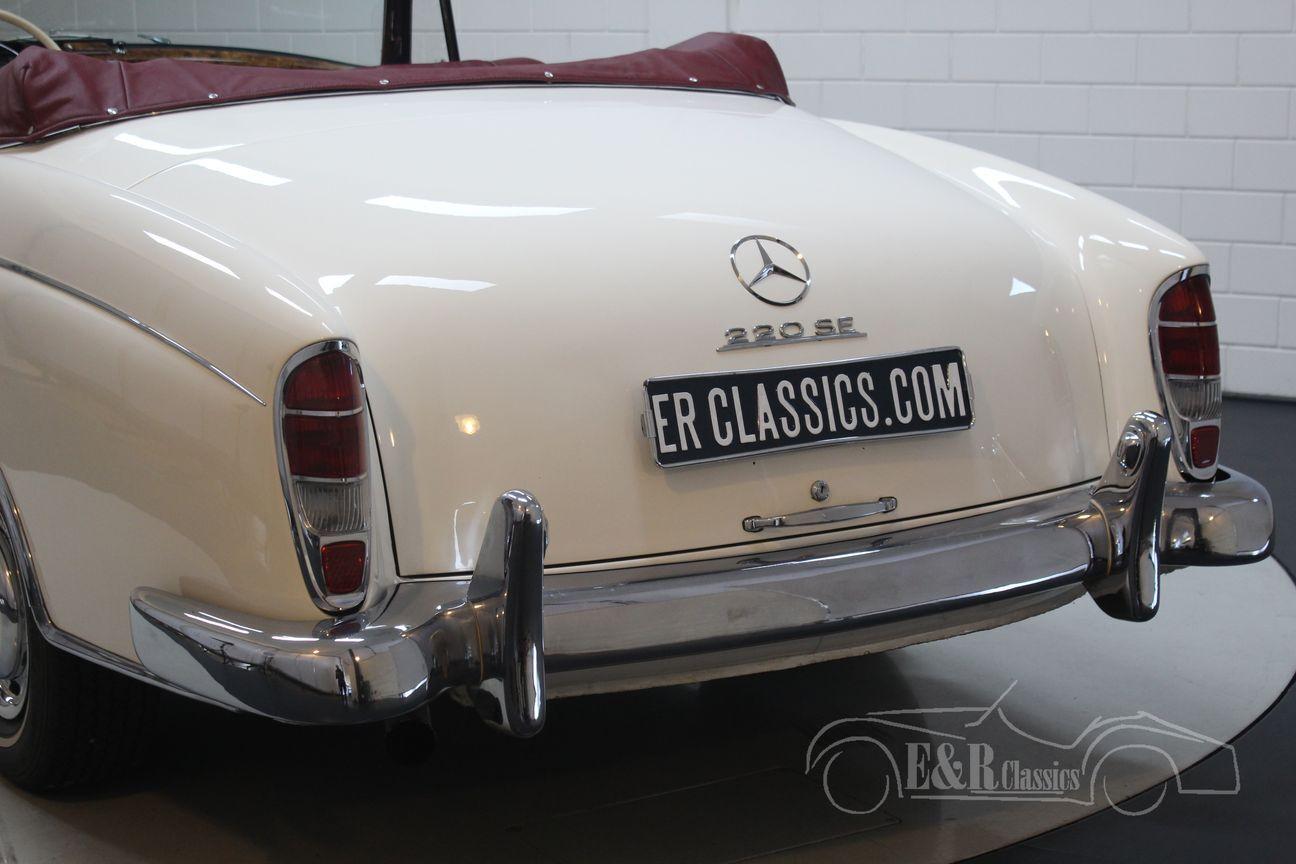Mercedes 220 SE Ponton Cabriolet 1960 10/30