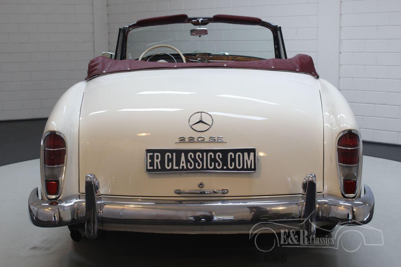 Mercedes 220 SE Ponton Cabriolet 1960 11/30