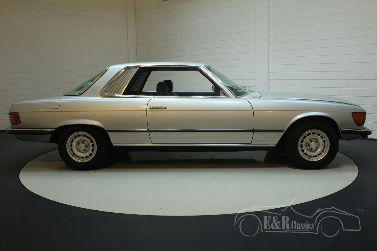 Mercedes SLC Coupe 1977 Europese auto SLC Coupe 1977 Europese auto