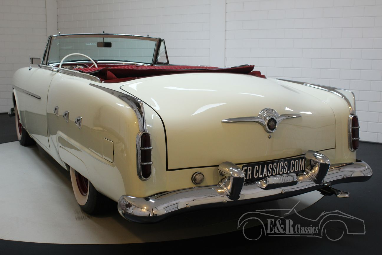 Packard Mayfair creme 250 1952 Automaat 8/20