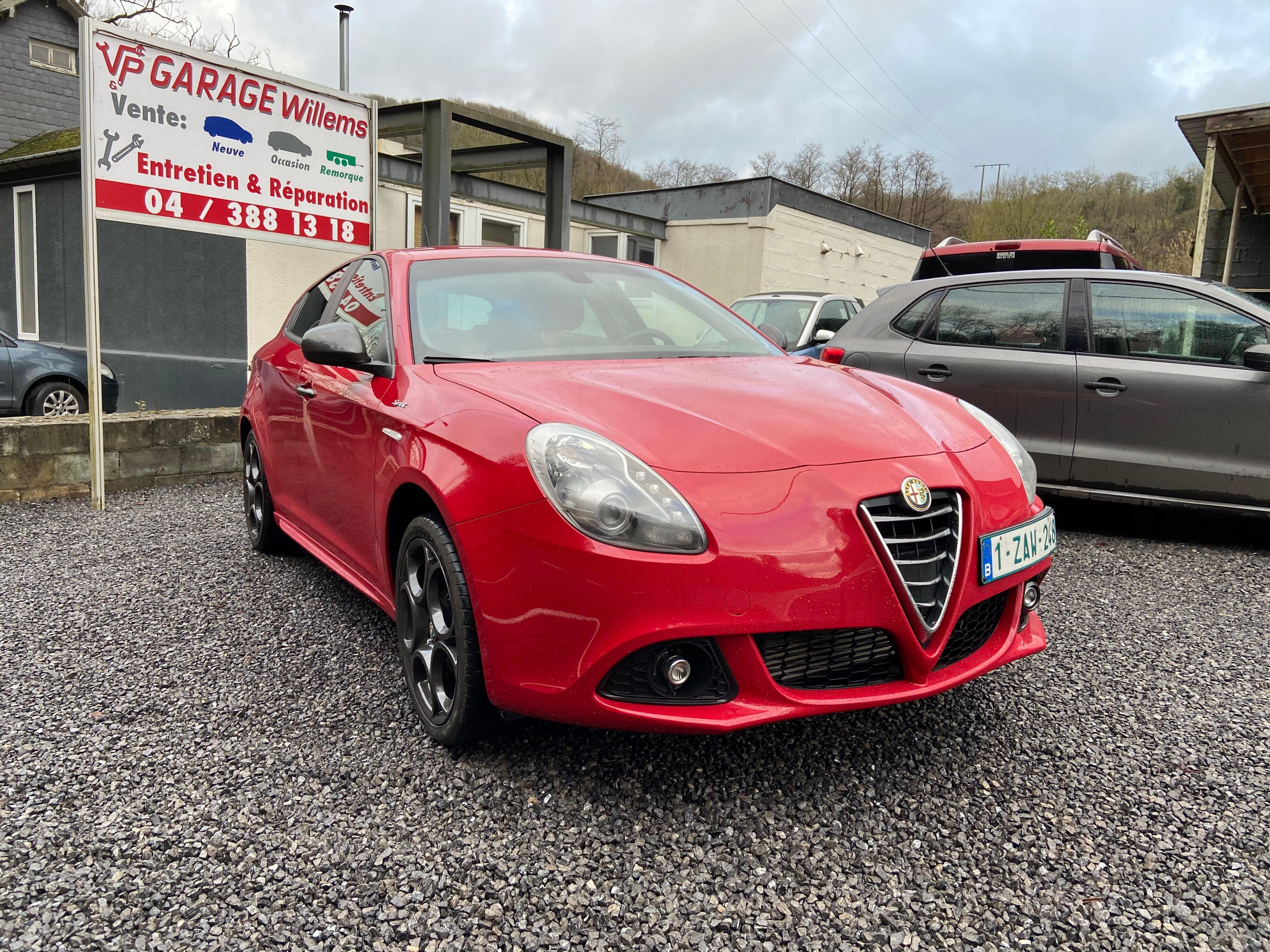 Alfa Romeo Giulietta 4/8