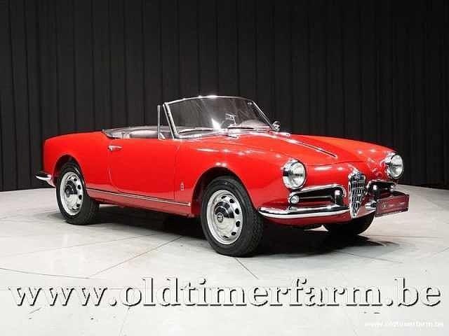 Alfa Romeo Giulietta 1300 Spider '62 12/30