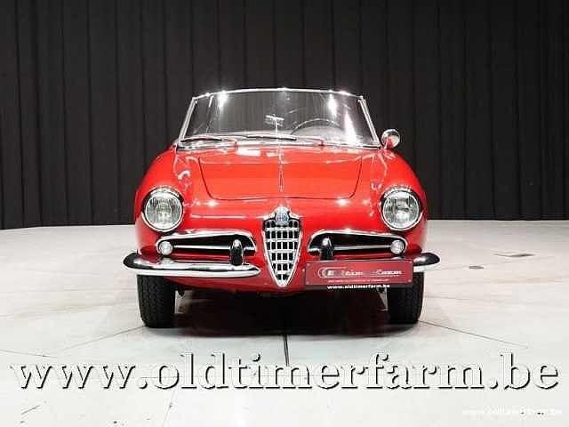 Alfa Romeo Giulietta 1300 Spider '62 14/30