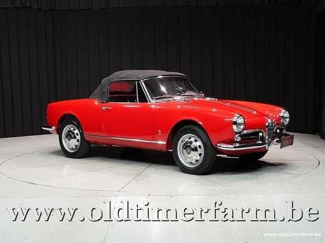 Alfa Romeo Giulietta 1300 Spider '62 6/30