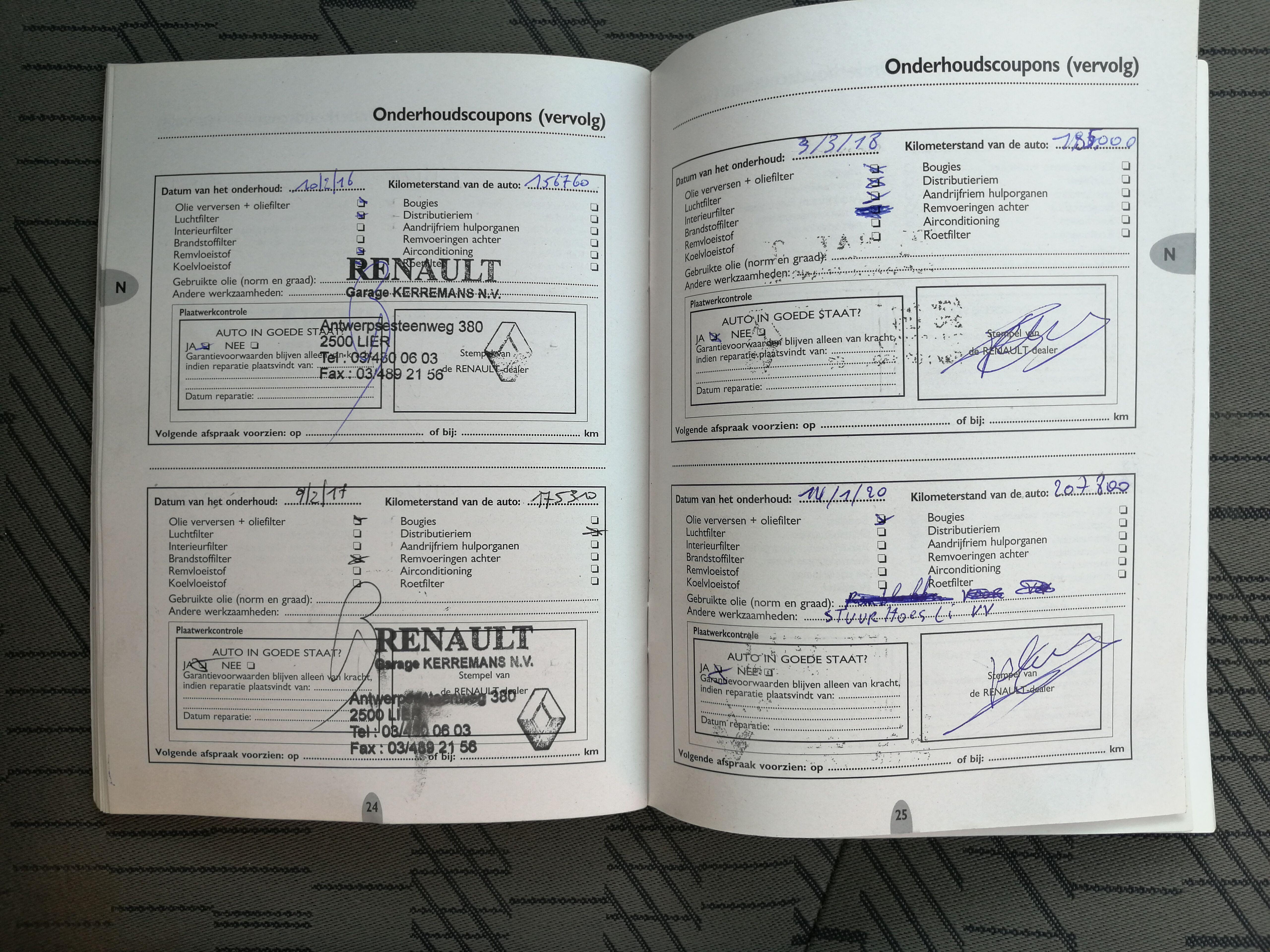 Renault Kangoo 1500 DCI 62 KW 85 CV AIRCO 19/19