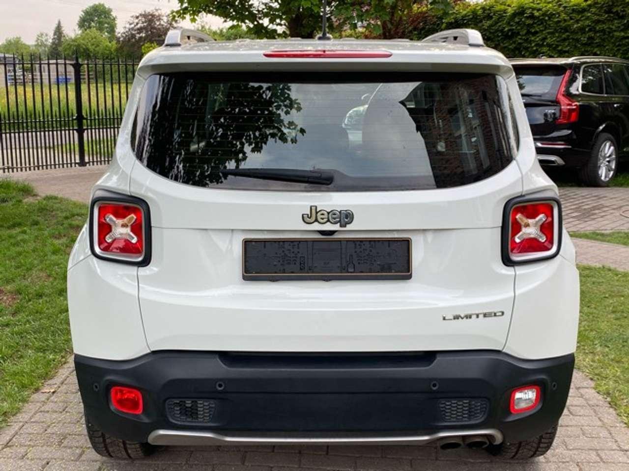 Jeep Renegade 1.4 Turbo 4x2 Limited- Navi- Airco-Benzine 10/15