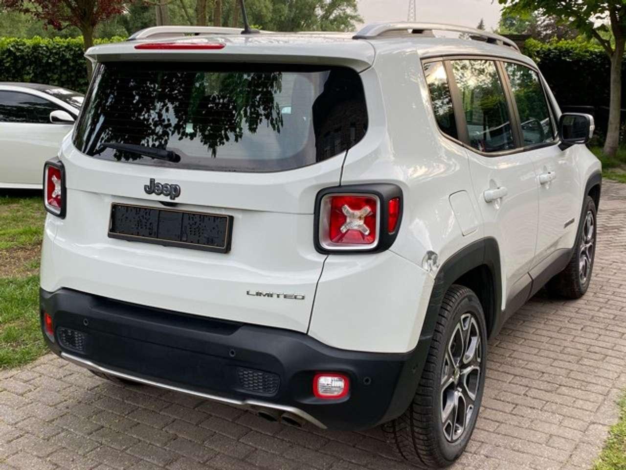 Jeep Renegade 1.4 Turbo 4x2 Limited- Navi- Airco-Benzine 11/15