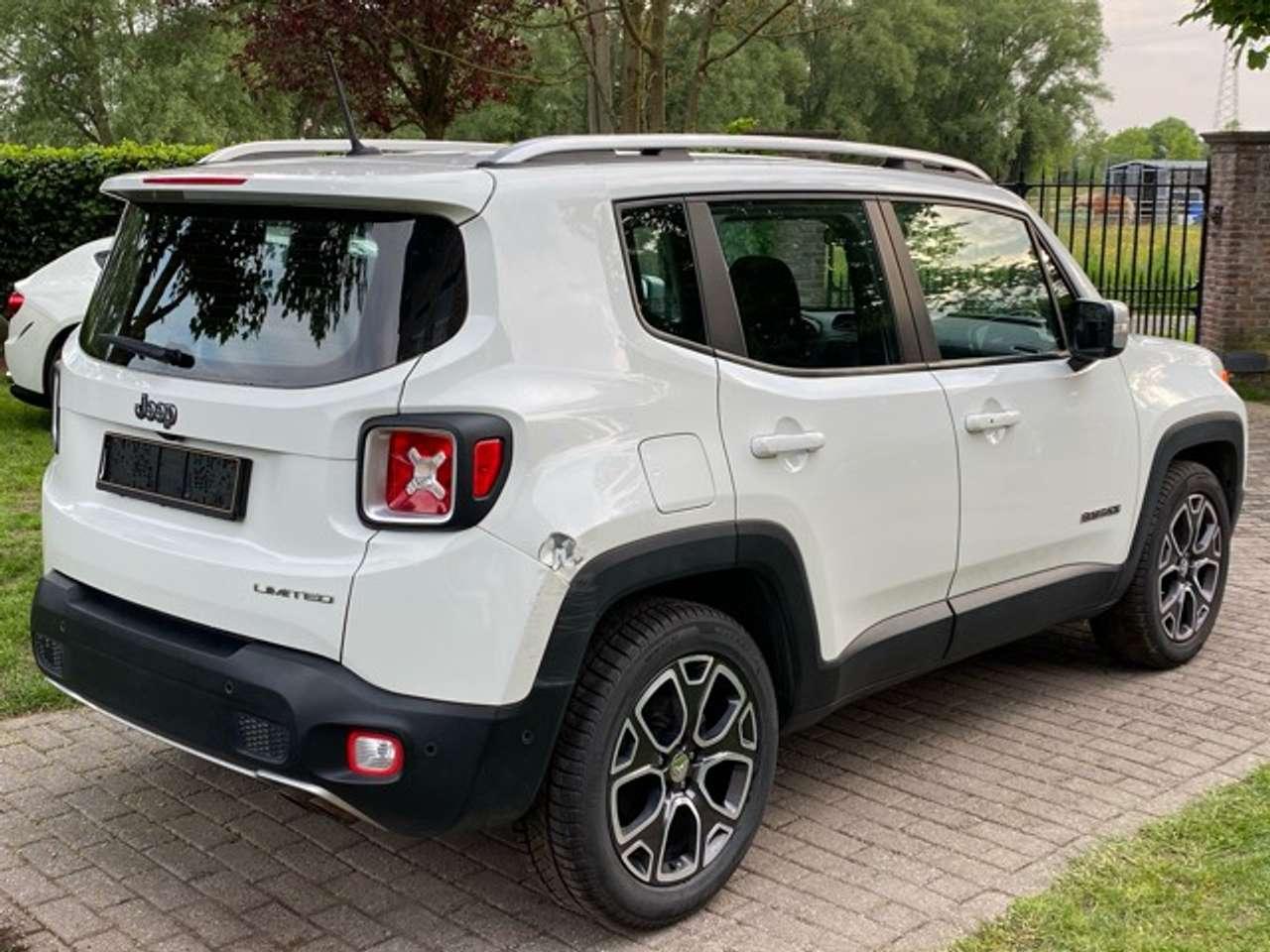 Jeep Renegade 1.4 Turbo 4x2 Limited- Navi- Airco-Benzine 12/15